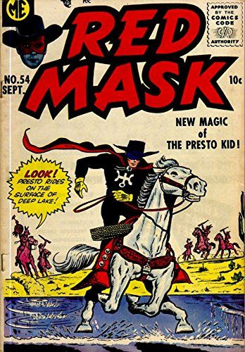 'Red Mask - Issue No.54 - New Magic Of The Presto Kid!' F…