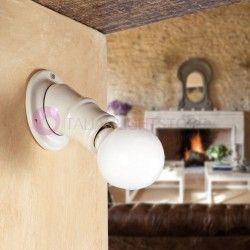 Lampadari lampade stile rustico e ceramica illuminazione for Lampade stile country