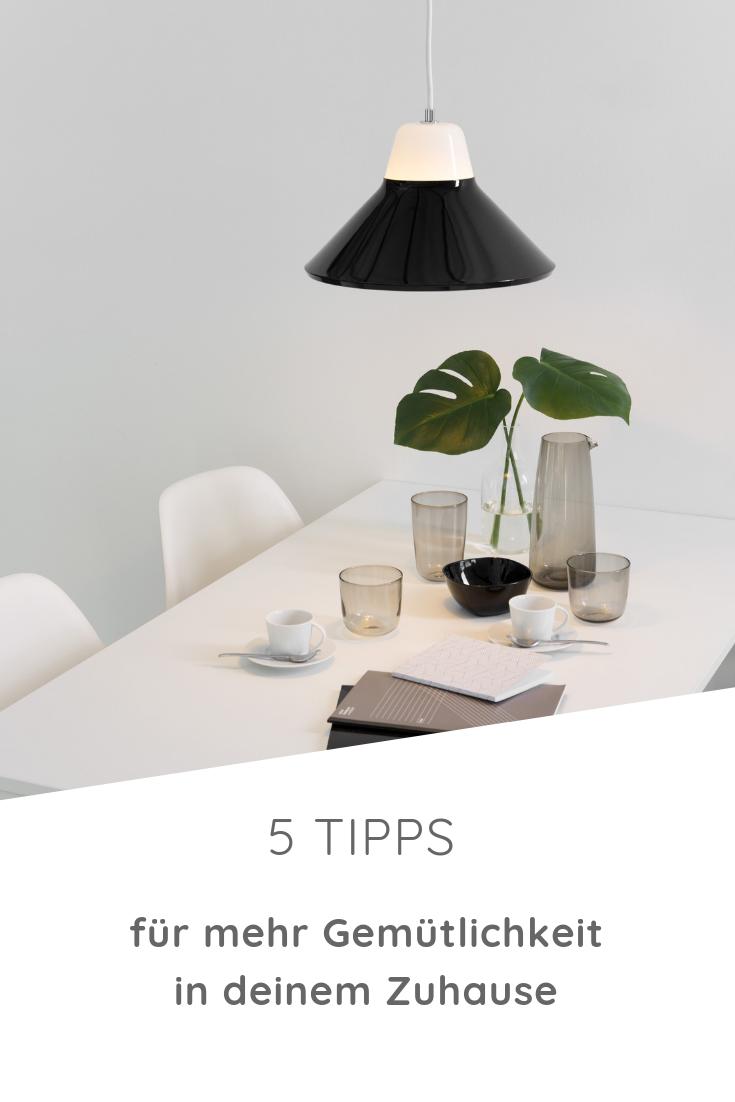 5 Tipps wie Du mit Licht Gemütlichkeit erzeugst