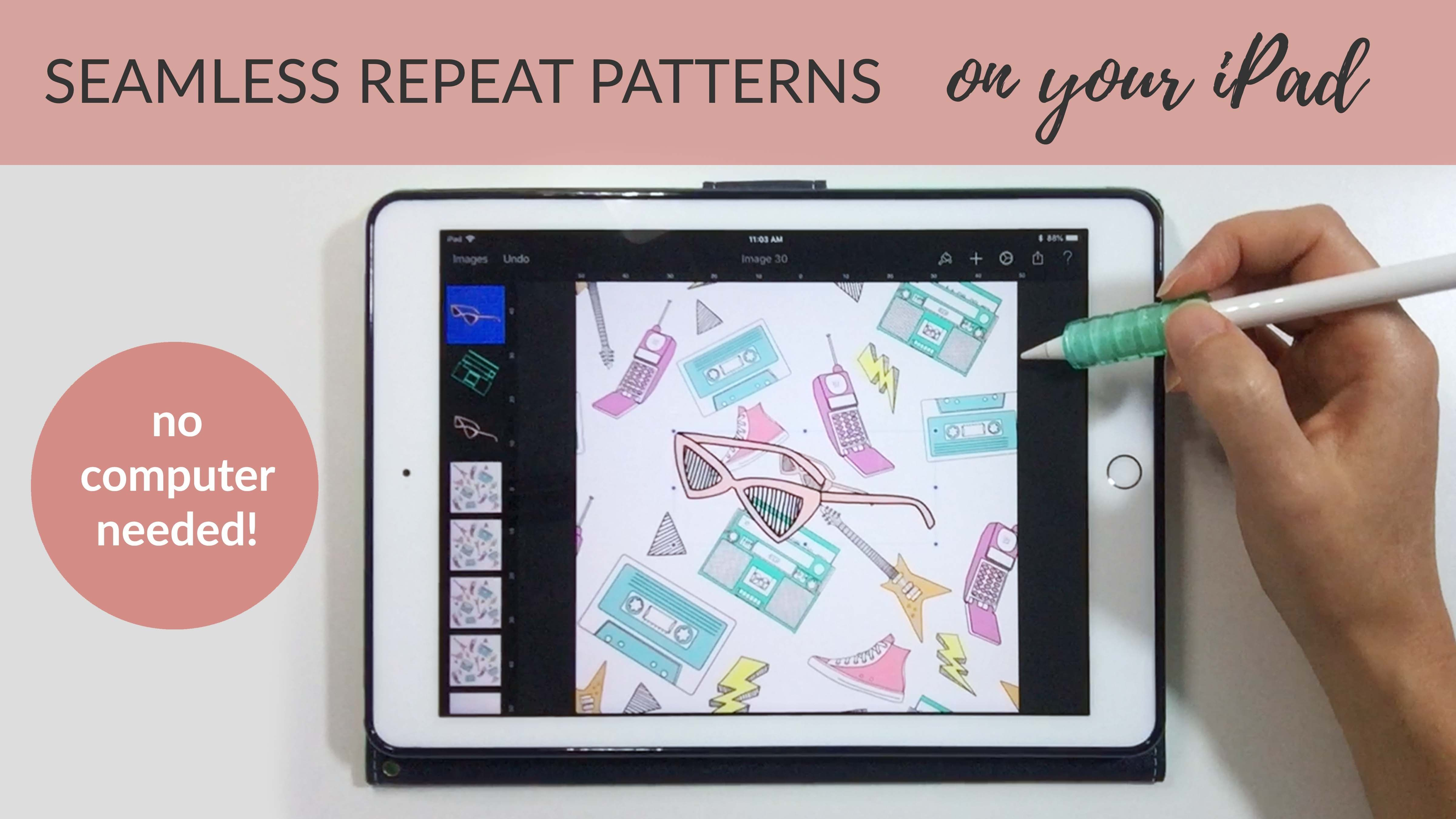 In This Class I Want To Show You How To Create A Seamless Repeat
