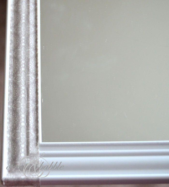 mirror makeover cheap to chic craft ideas pinterest rh pinterest com