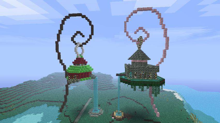 Photo GardenParadise1.png · Minecraft StuffGarden IdeasYard ...