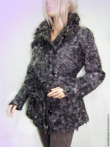f621d6d7268 Верхняя одежда ручной работы. Ярмарка Мастеров - ручная работа. Купить  Куртка из валяной шерсти