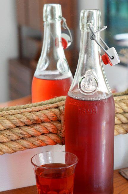 Hibiscus-Earl Grey Iced Tea
