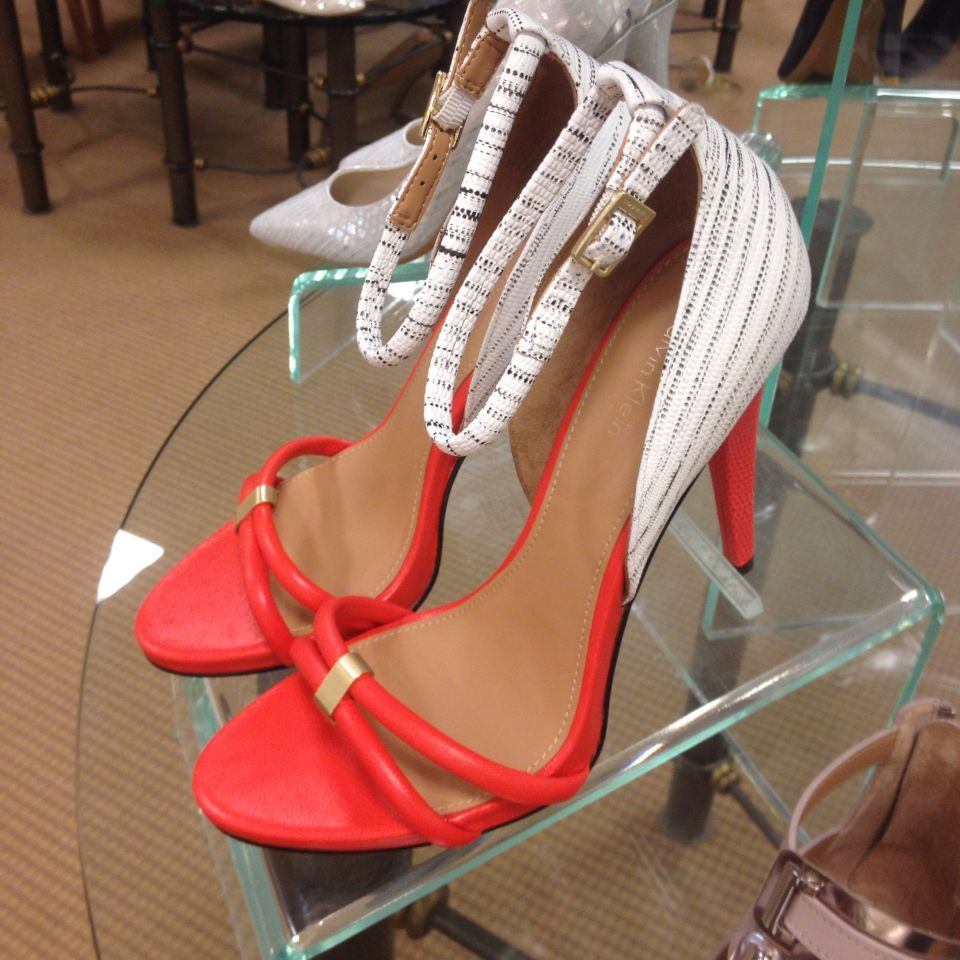 Calvin Klein shoes. I love this combo of tones. I think they could be worn well with jeans or a nice maxi dress.