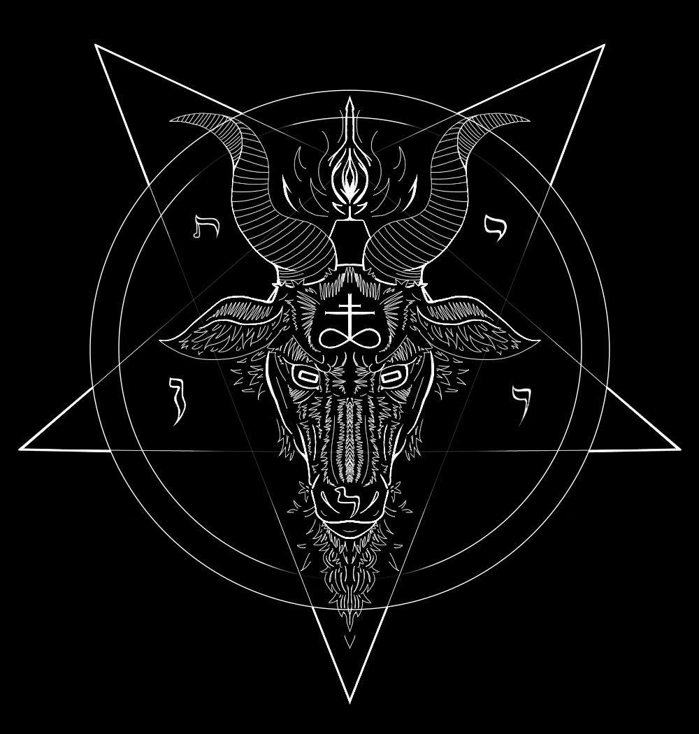 Afficher Limage Dorigine Satan Co Pinterest Baphomet
