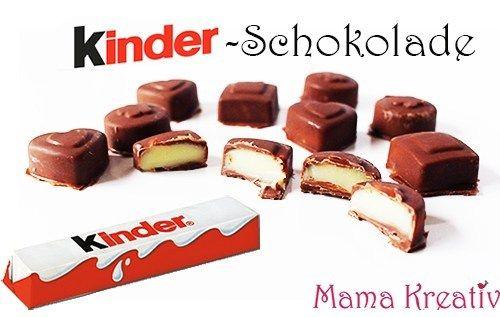 Kinderschokolade selber machen aus 3 Zutaten