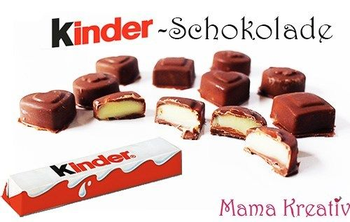 Kinderschokolade selber machen aus 3 Zutaten — Mama Kreativ