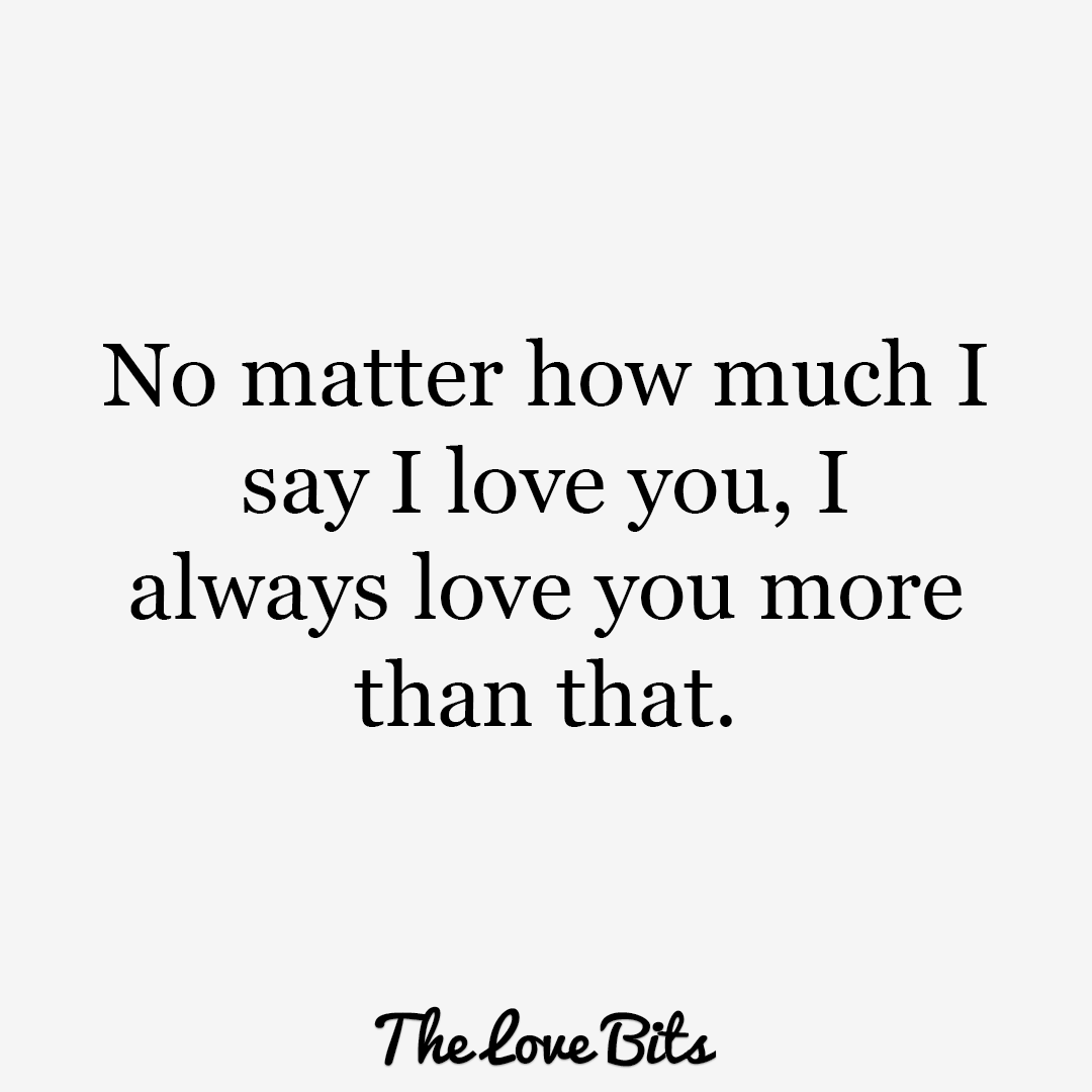 Love You More Quotes Extraordinary Iloveyouquotes10 1080×1080  ❤ Him ❤ A & J