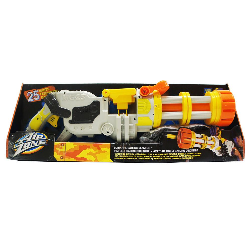 air zone quickfire gatling blaster toys r us toys