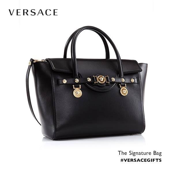 The Versace Signature bag.  VersaceSignatureBag   Handbags   Versace ... e82823e768