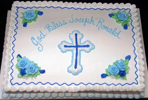 What To Write On Catholic Baptism Cake