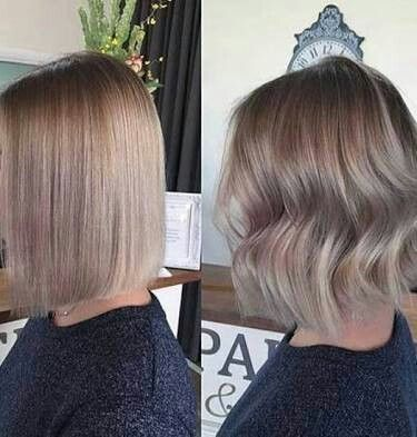 Short Ash Brown Hair Ash Blonde Short Hair Ash Blonde Balayage Short Ash Blonde Balayage