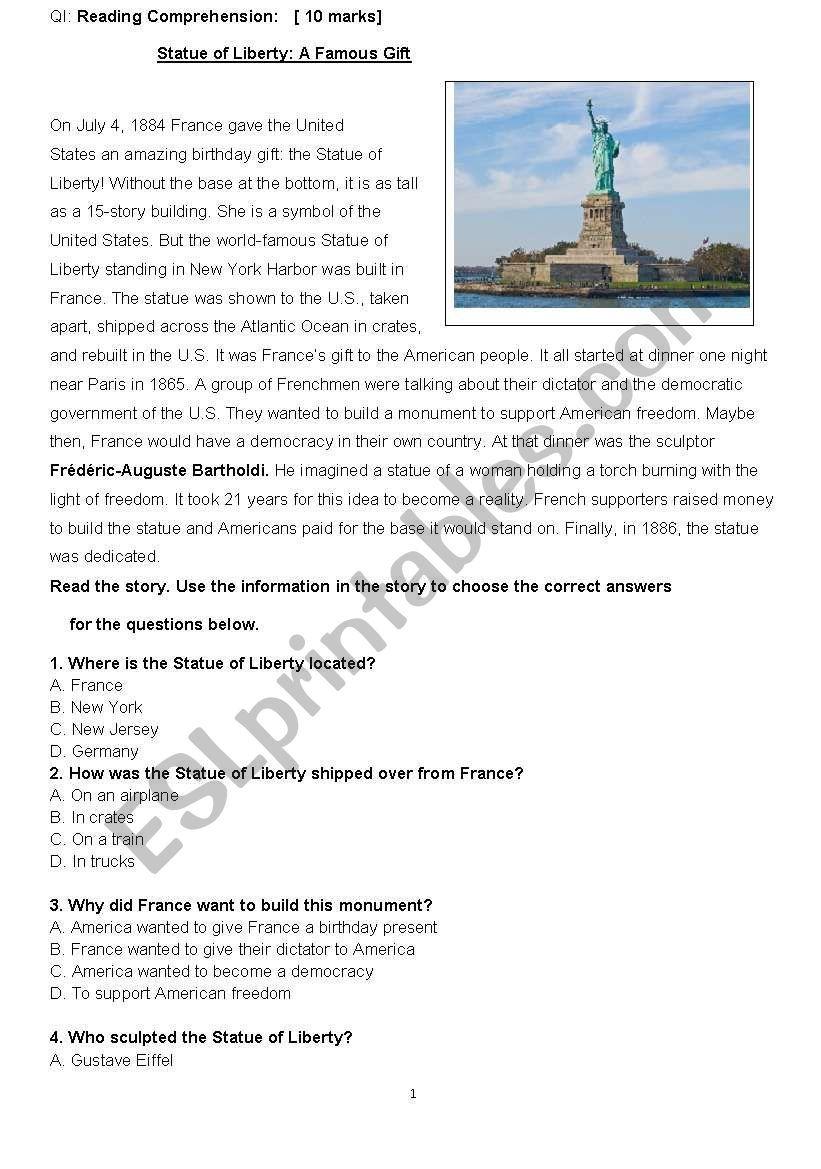 Beginners Final Exam New Headway ESL worksheet by