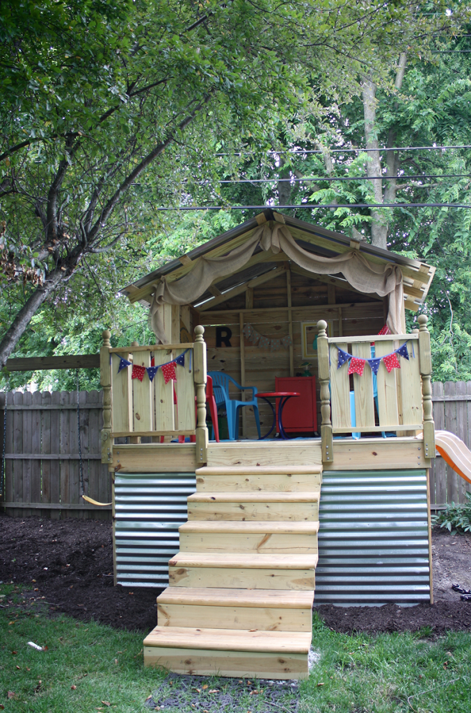 DIY Backyard Hideaway Playhouse Part 1   Robb Restyle. Backyard PlayhouseOutdoor  PlayhousesKid ...