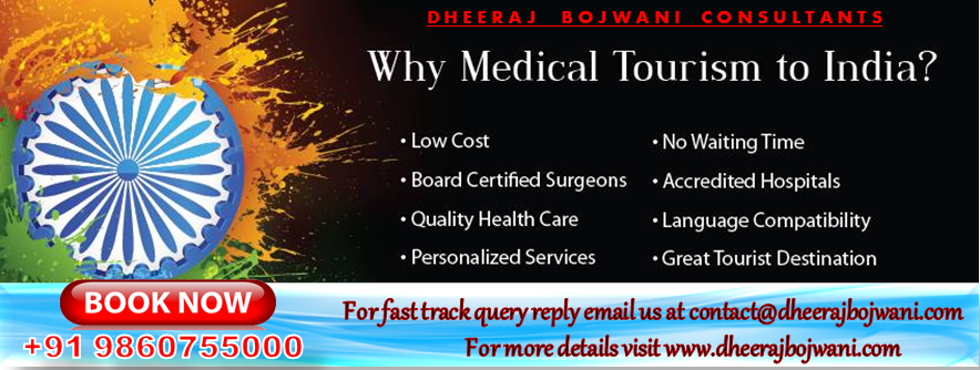 Quality Healthcare Tourism in India at lowest cost
