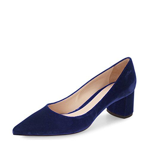 YDN Women Suede Retro Block Low Heel Pumps Classic Pointy... https://www.amazon.com/dp/B01NABBJMW/ref=cm_sw_r_pi_dp_x_.EOEzb47ZKP1N