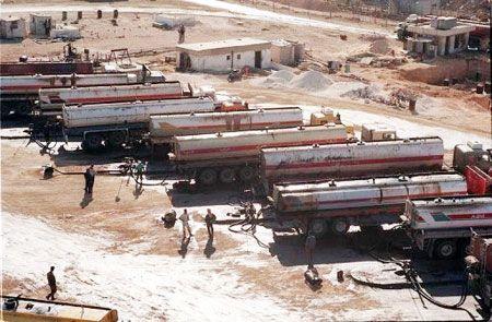توقف حركة نقل النفط عبر الصهاريج من العراق إلى الأردن