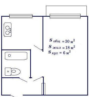 хрущёвка планировка 1 комнатная фото