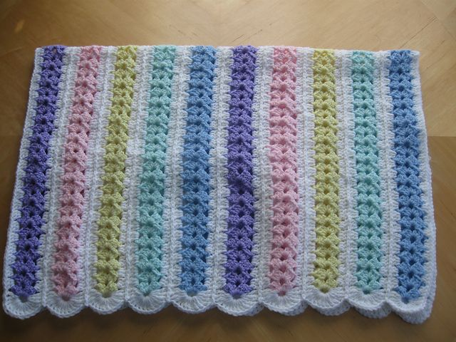 Ravelry: Mile A Minute Baby Afghan (archived) pattern by Caron ...