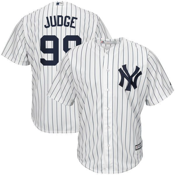 b682ad0bc This Aaron Judge Home New York Yankees Player jersey from Majestic will be  the perfect piece