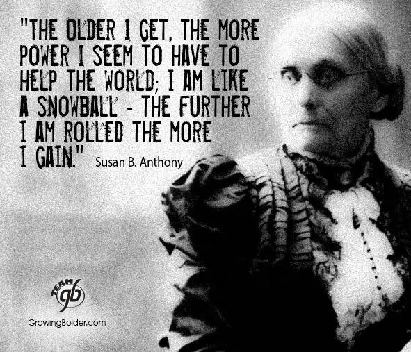 Susan B. Anthony Beautiful quotes, Beautiful words