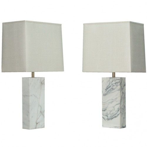 Inspiring Marble Effect Lamp Table And Cream Marble Lamp Table