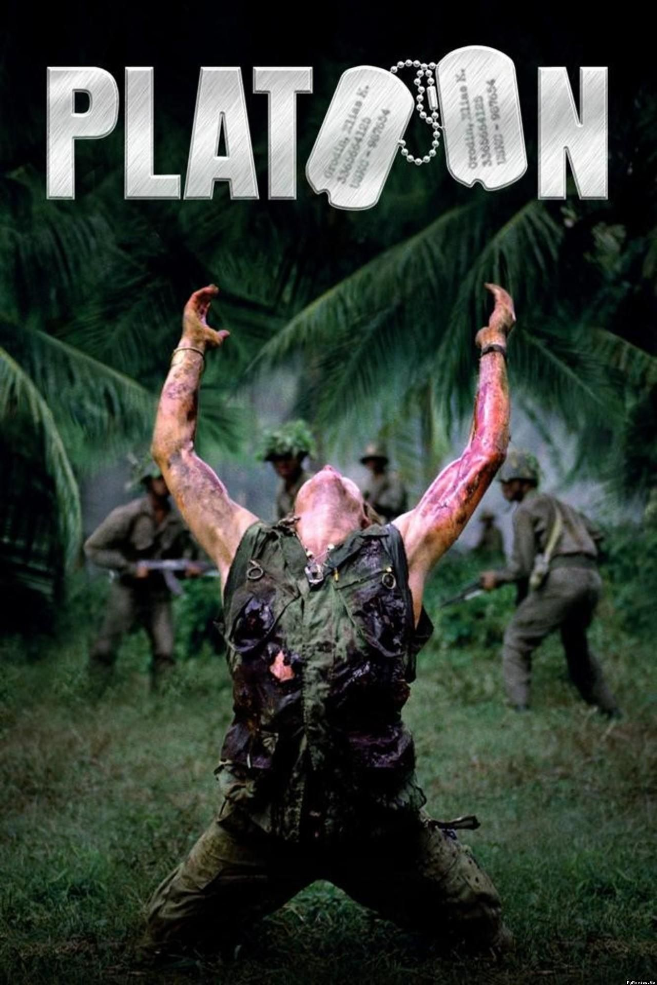 Platoon the Vietnam movie written and directed by a Nam Vet Oliver Stone.  One of my favorites of his.