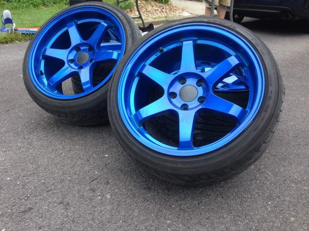 Candy apple blue varrstoen rims automotive motorcycle parts candy apple blue varrstoen rims fandeluxe Images