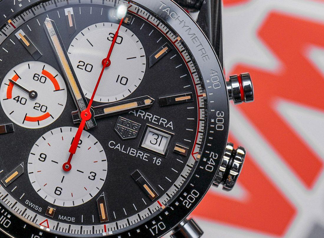 2b26214742225 TAG Heuer Carrera Calibre 16 Chronograph Watch Hands-On  baselworld2018   baselworldabtw