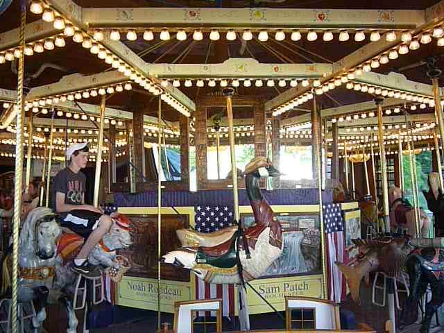 The Empire State Carousel At The Farmers Museum In Cooperstown Ny Cooperstown Carousel Places