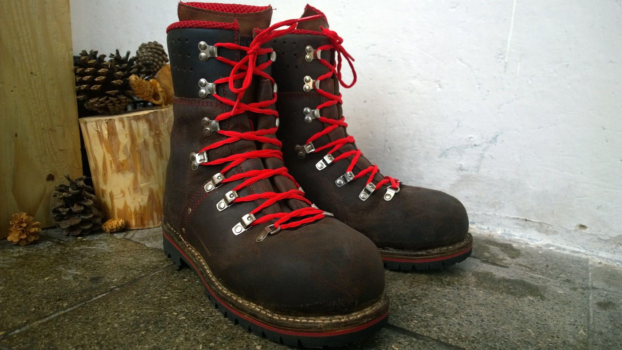 e9ba4ff4e1a Pfanner Tirol Juchten - dřevorubecká obuv