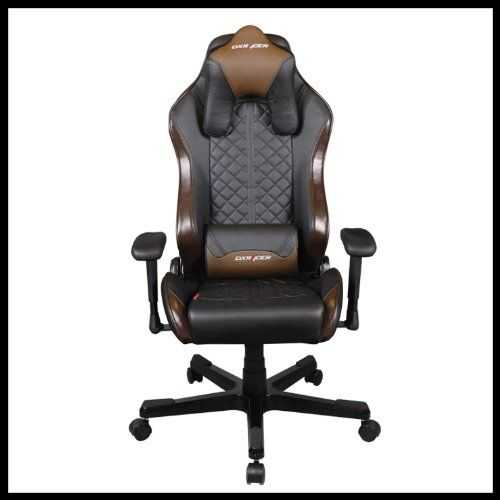 DX Racer OH DF73 NC Office Chair PVC Recliner Esport WCG IEM ESL Dreamhack  PC Game
