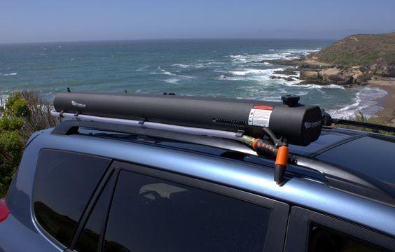 Road Shower The Rack Mounted Solar Shower New Model