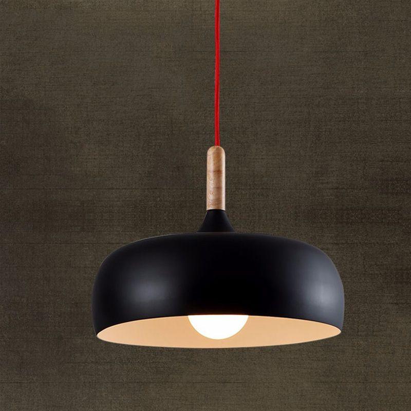 Modern Pendant Lights Contemporary Iron Fancy Hanging Lamp E27 ...