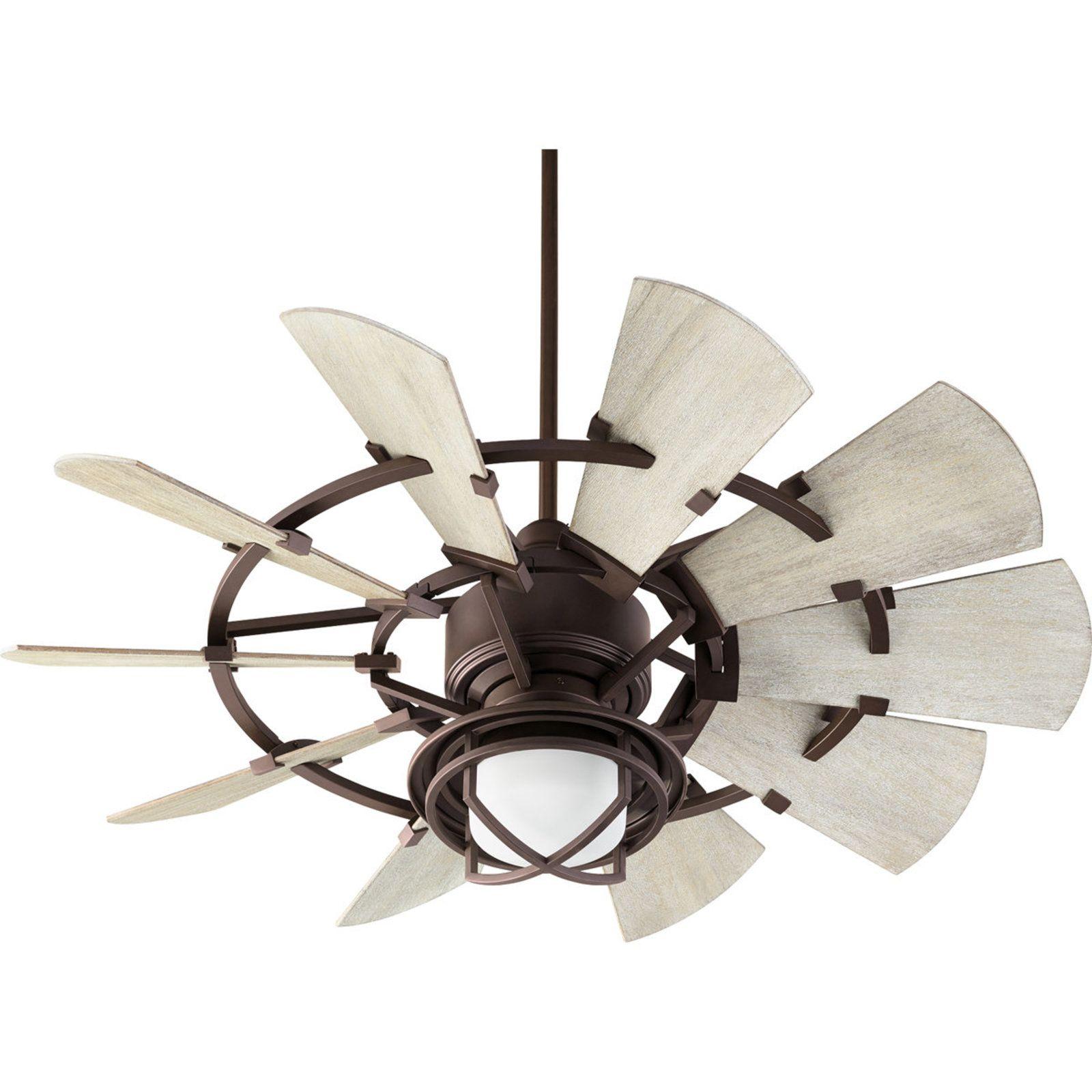 """44"""" Rustic Windmill Fan Windmill ceiling fan, Ceiling"""