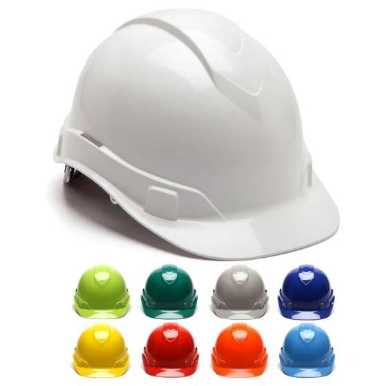 Pyramex Ridgeline Hp441 Cap Style 4 Point Ratcheting Suspension Hard Hat In 2020 Cap Hard Hat Hard Hats