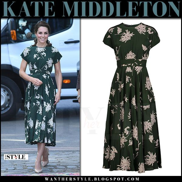 Kate Middletons Head-to-Toe Green Outfit is a Lesson in