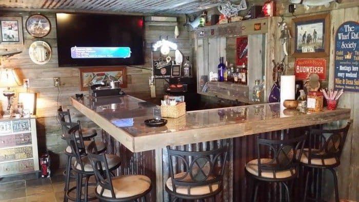 L Shaped Man Cave Bar | Man cave bar, Men cave and Cave