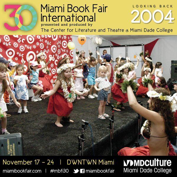 Children's alley at Miami Book Fair International