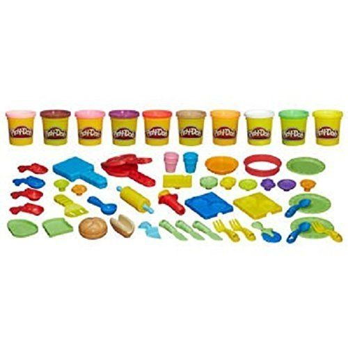 Play Doh Chef Supreme Play Kitchen Set With 40 Accessories Click