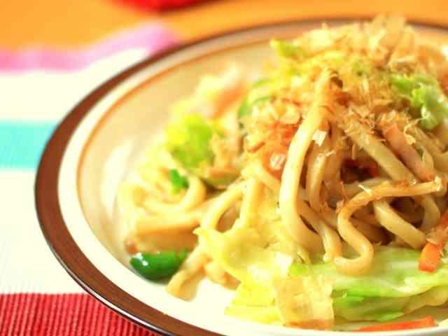 味付けはめんつゆ♡簡単 焼きうどん♡ | レシピ | 焼きうどん、麺 レシピ、簡単