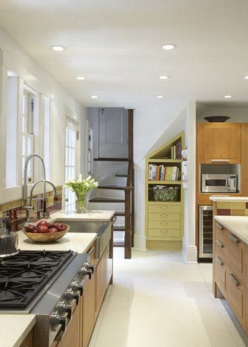 Back Staircase From Kitchen Stairs In Kitchen House And Home Magazine Kitchen Inspirations