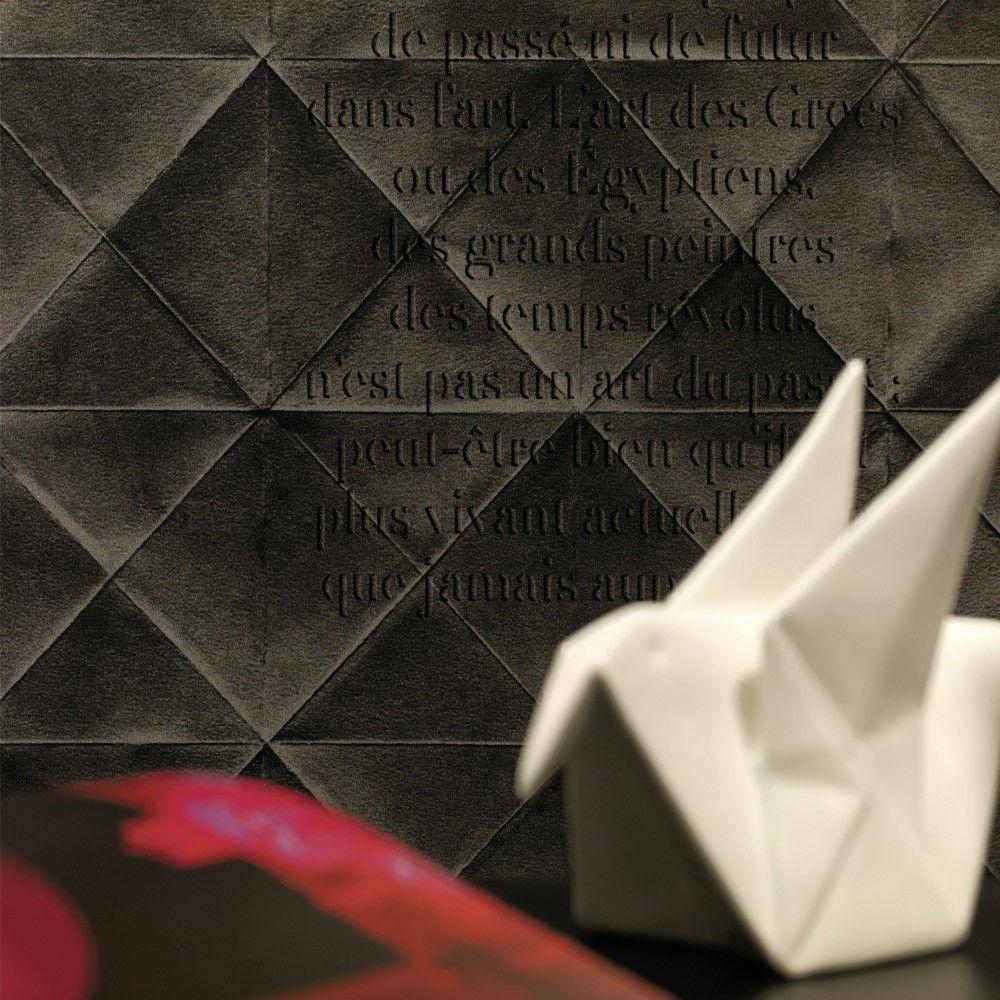Elitis Pleats wallpaper Discount wallpaper, Wall