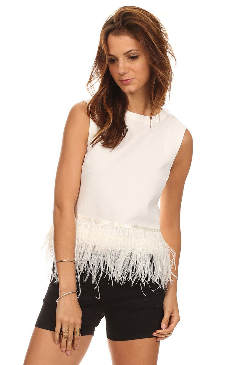 Abigail - Anserini Feather Top