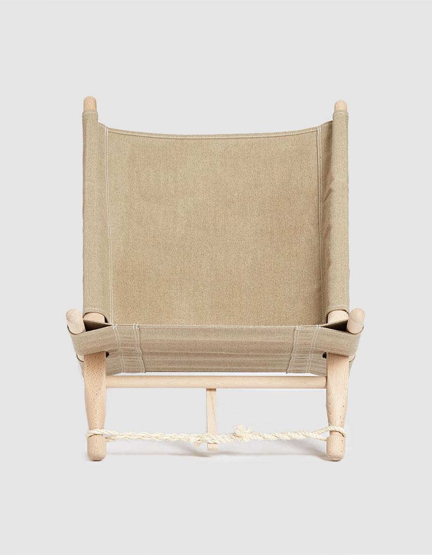 Skovshoved Møbelfabrik OGK Safari Chair in Natural, Size 0