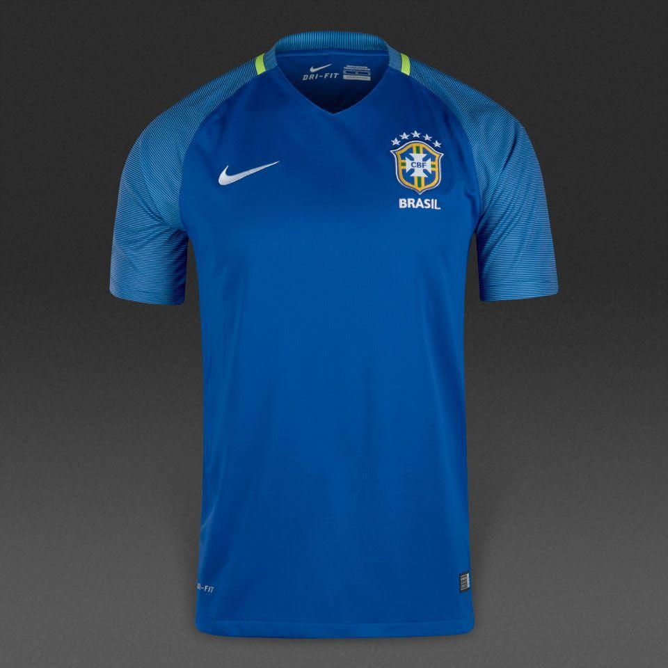 Nike Brasil 16/17 Away SS Stadium Shirt - Mens Replica - Shirts - Varsity  Royal/Clearwater/White