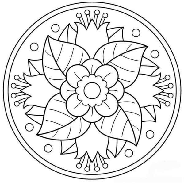 Mandalas para Imprimir a Color, Blanco y Negro - CIENTOS DE TIPOS Y ...