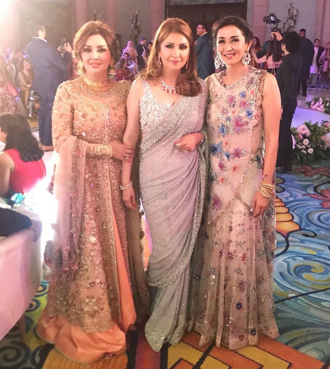 Beautiful daughters of Malika-e-Tarannum Noor Jehan , Hina