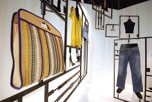 Hugo Boss, merchandising system, pinned by Ton van der Veer